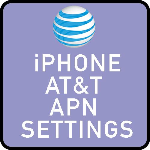 iPhone AT&TAPN settings