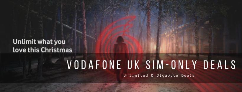 Best SIM-Only Deals by Vodafone UK